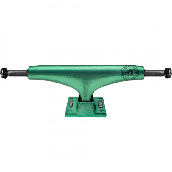 Thunder Team Anodized Green Skateboard Trucks