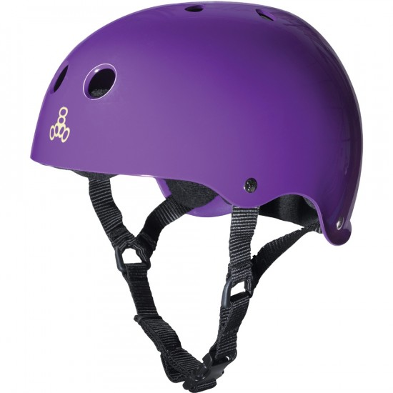 Triple Eight Brainsaver Skateboard Helmet - Purple