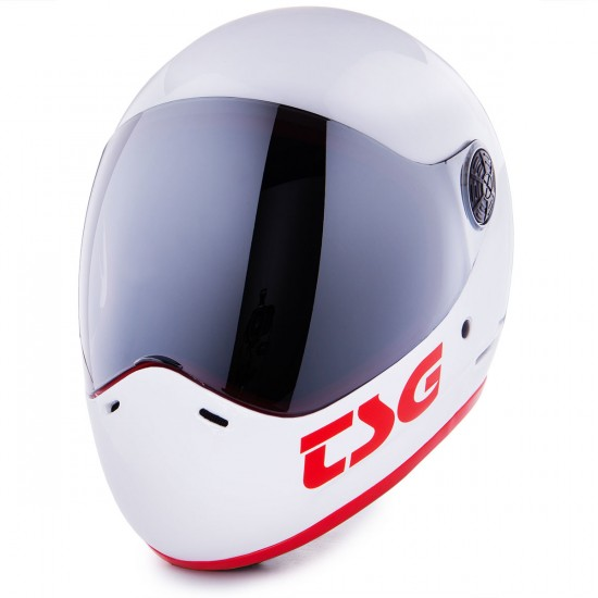 TSG Pass Helmet - White