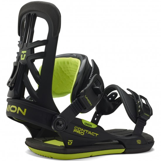 Union Contact Pro Snowboard Bindings 2015 - Black