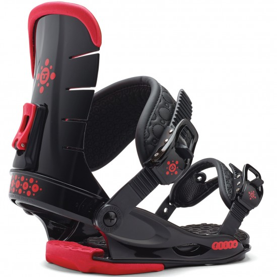 Union Flite Lady Women's Snowboard Bindings 2015 - Black