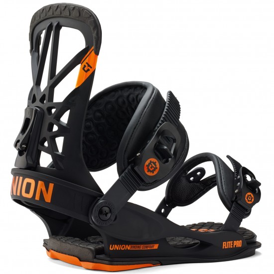 Union Flite Pro Snowboard Bindings 2015 - Black