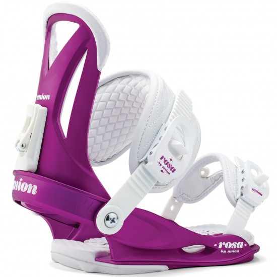 Union Rosa Women's Snowboard Bindings 2015 - Purple