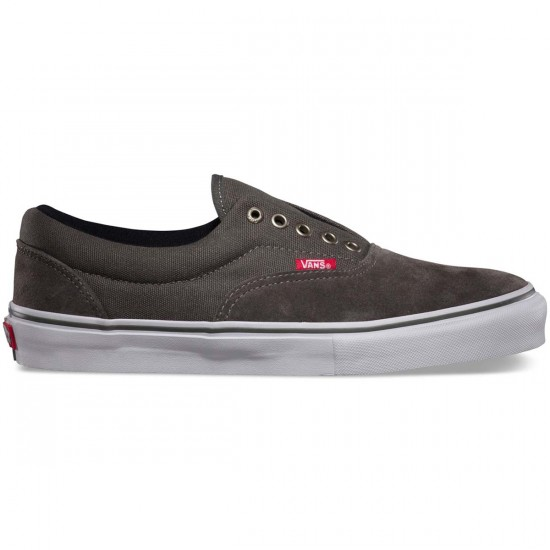Vans A-Skate Era Laceless Pro Shoes - Charcoal - 7.0