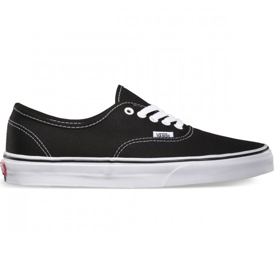Vans Original Authentic Shoes - Black - 7.0