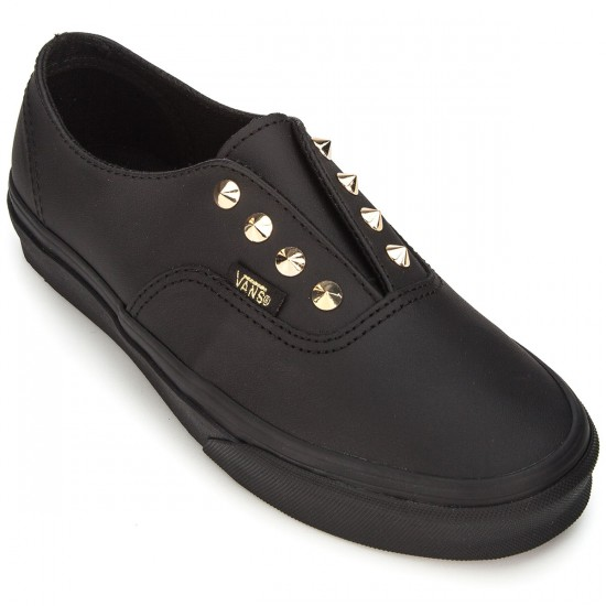 Vans Authentic Gore Womens Shoes - Studs/Leather/Black - 3.5