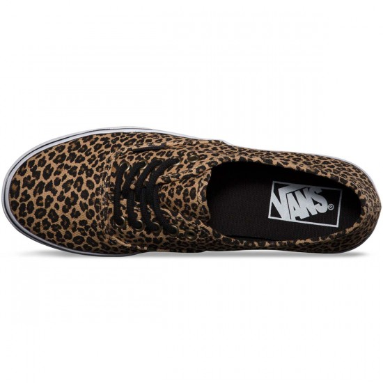 Vans Authentic Lo Pro Leopard Womens Shoes - Herringbone - 7.5