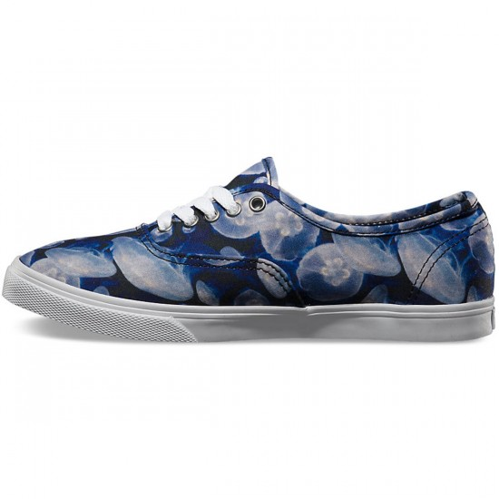 Vans Authentic Lo Pro Womens Shoes - Digi Jelly Fish/Black/White - 7.5