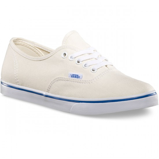 Vans Authentic Lo Pro Womens Shoes - White/True White - 4.0
