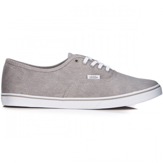 Vans Authentic Lo Pro Womens Shoes - Washed Canvas/Drizzle/True White - 5.0