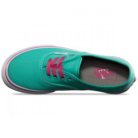 Vans Original Youth Authentic Shoes - Cockatoo/Fuchsia Purple - 2.0