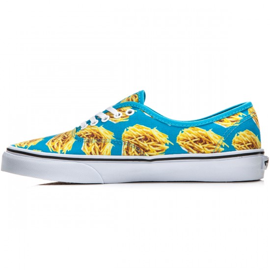 Vans Original Authentic Shoes - Late Night Blue Atoll/Fries - 8.0