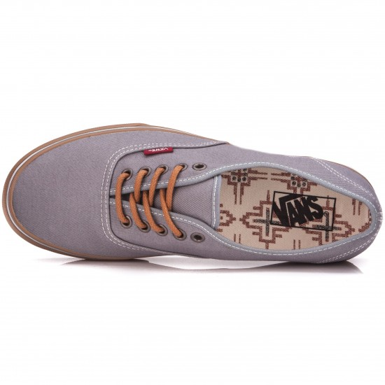 Vans Original Authentic Shoes - Monument Gum - 6.0