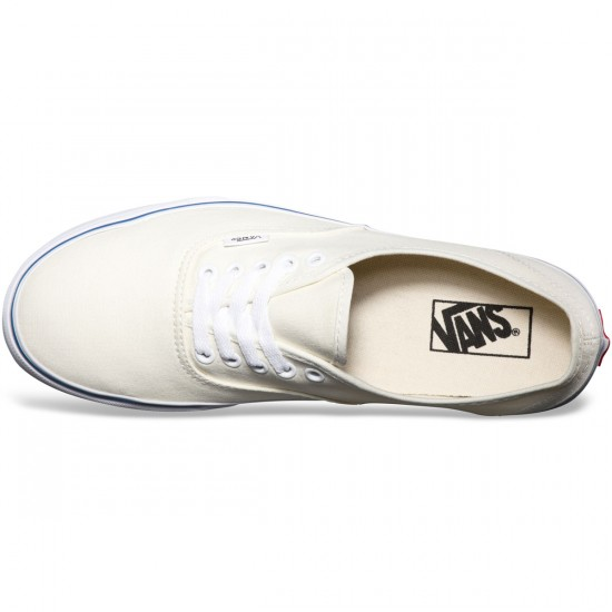 Vans Original Authentic Shoes - Off White - 5.0