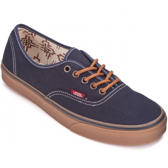 Vans Original Authentic Shoes - Ombre Blue/Gum - 6.0