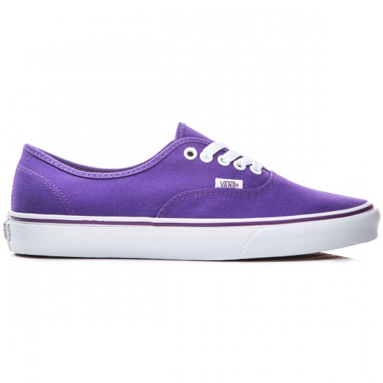 Vans Original Authentic Shoes - Pop Check/Purple - 8.0