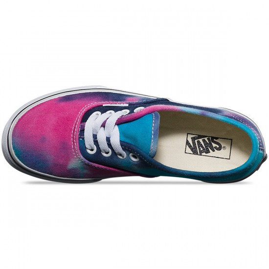 Vans Toddler Authentic Tie Dye Shoes - Pink/Blue - 4Y