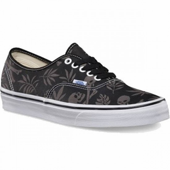 Vans Authentic Van Doren Shoes - Black/Aloha - 7.0