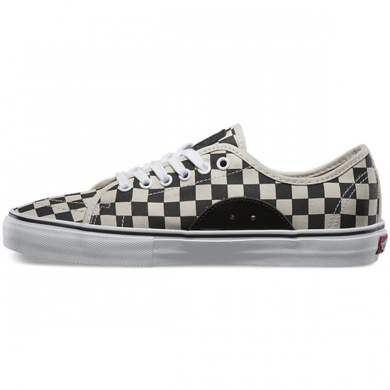 Vans AV Classic Checkers Shoes - Black/White - 9.5