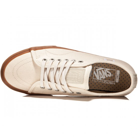 Vans AV Classic Pro Shoes - Natural Canvas/Gum - 8.0