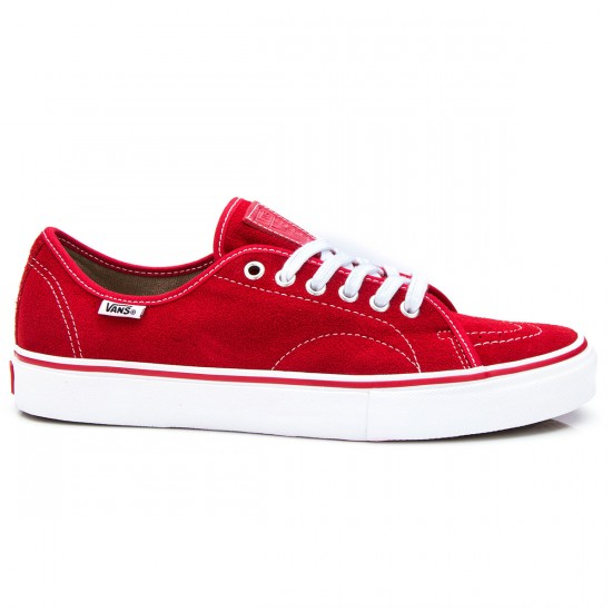 Vans AV Classic Pro Shoes - Red - 8.0