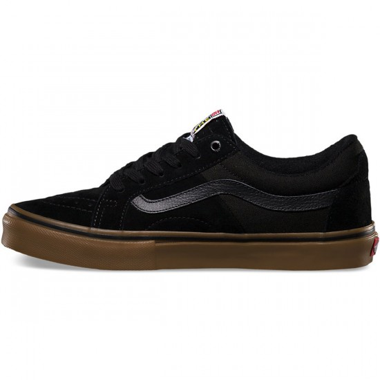 Vans AV Native American Low Shoes - Black/Gum - 10.0