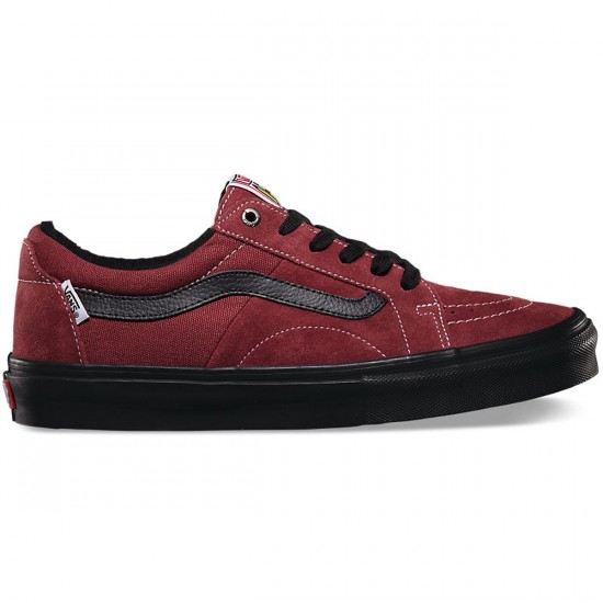 Vans AV Native American Low Shoes - Brick/Black - 10.0