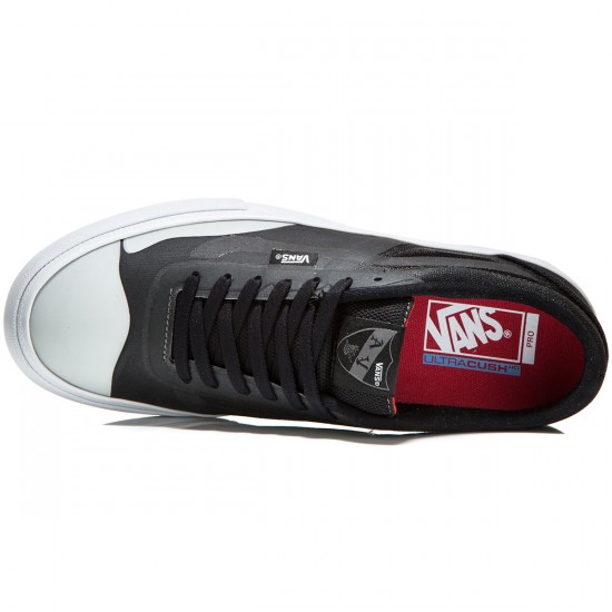 Vans AV RapidWeld Pro Lite Shoes - Black/Light Grey - 8.0