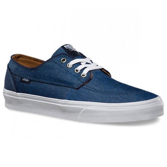 Vans Brigata C&C Shoes - Dress Blues/True White - 10.0