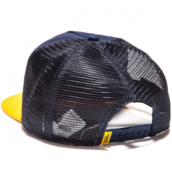 Vans Cap Fin Trucker Hat - Parisian Night/Golden Rod