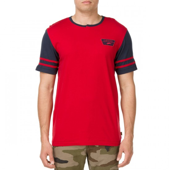 Vans Chester Knit T-Shirt - Chili Pepper Red