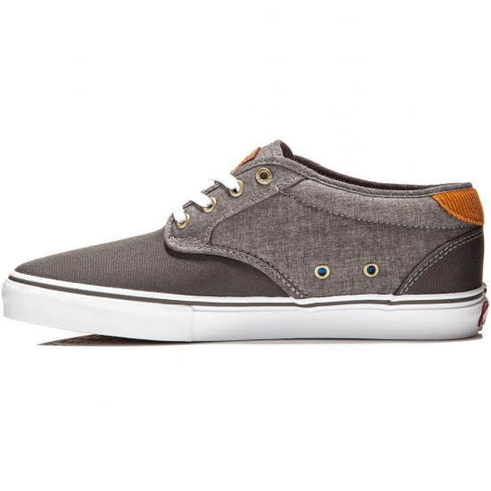 Vans Chima Estate Pro Shoes - Cord Charcoal/Chambray - 8.0