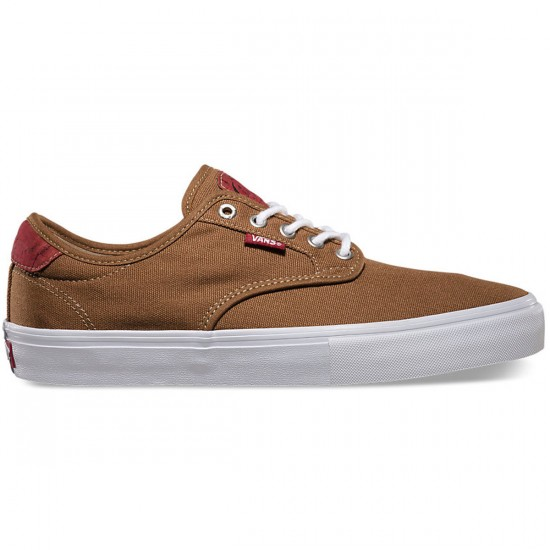 Vans Chima Ferguson Pro Shoes - Cork/Rubber/Red - 10.0