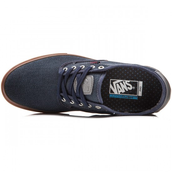 Vans Chima Ferguson Pro Shoes - Covert Twill Navy/Gum - 8.0