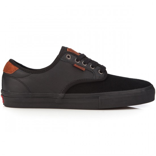 Vans Chima Ferguson Pro Shoes - Premium Black/Black - 6.0