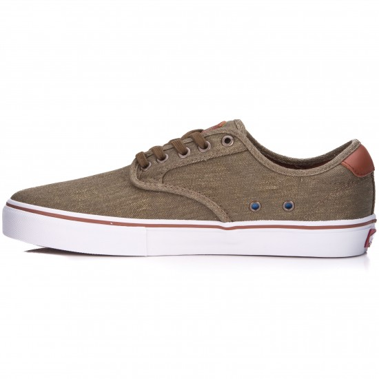 Vans Chima Ferguson Pro Shoes - Twill/Olive - 6.0