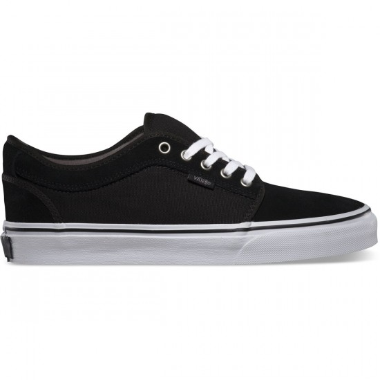 Vans Chukka Low Shoes - Black/Pewter/White - 7.0