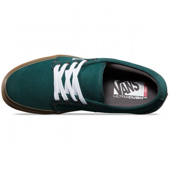 Vans Chukka Low Shoes - Green/Gum - 10.0