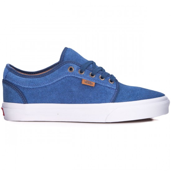 Vans Chukka Low Shoes - Textured Suede/Poseidon - 6.0