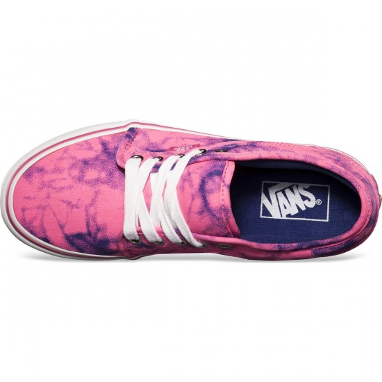 Vans Chukka Low Womens Shoes - Bio Wash Neon Pink - 8.0