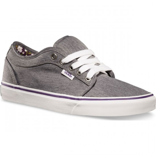 Vans Chukka Low Womens Shoes - Grey - 9.0