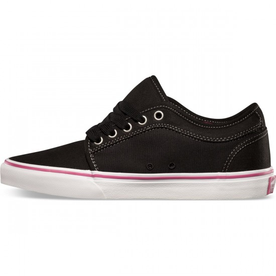 Vans Chukka Low Womens Shoes - Black - 5.0