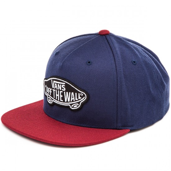 Vans Classic Patch Snapback Hat - Dress Blues/Rhubarb