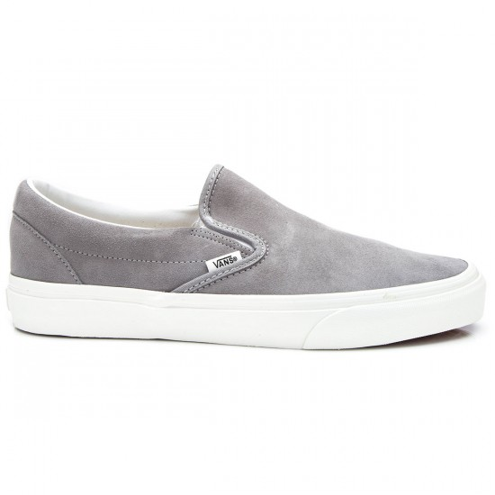 Vans Classic Slip-On Vintage Shoes - Frost Grey/Blanc - 6.0