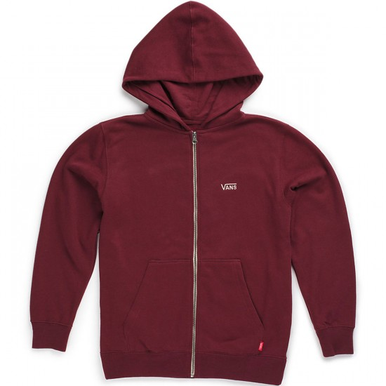 Vans Core Basics Zip II Boys Hoodie - Wine