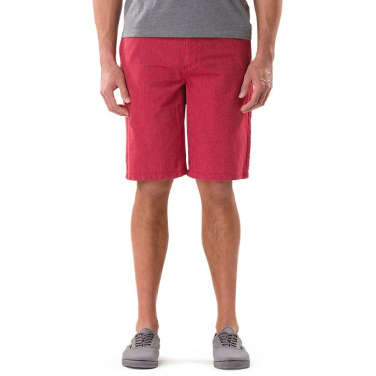 Vans Dewitt Shorts - Red Heather