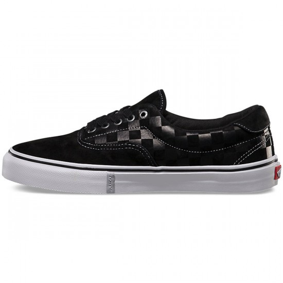 Vans Era 46 Jeff Grosso Pro Shoes - Black Checker - 10.0