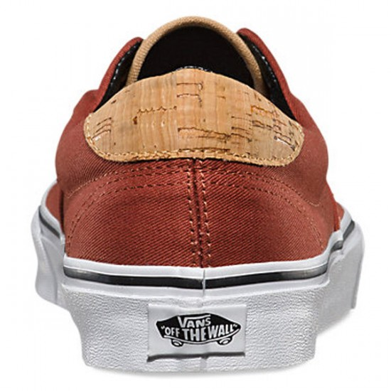 Vans Era 59 Cork Twill Shoes - Arabian Spice - 6.0