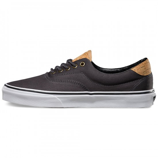 Vans Era 59 Cork Twill Shoes - Dark Shadow - 6.0