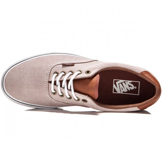Vans Era 59 Shoes - Oxblood/Oxblood Red/True White - 8.0